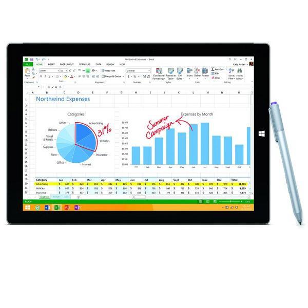 Produkt Tablet Microsoft Surface Pro 3 - 128 GB (MQ2-00004)                                              ...